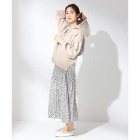 【洗える】ダブルプリーツ スカート (ホワイト系5)