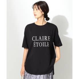 フロッキーロゴ Tシャツ (ブラック)