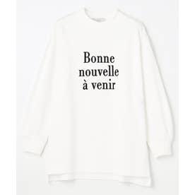 ロゴ&アートフォトロングスリーブ Tシャツ (オフ)