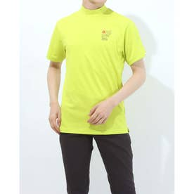 メンズ ゴルフ 長袖シャツ 紳士半袖シャツ AMS9501V2 (イエロー)