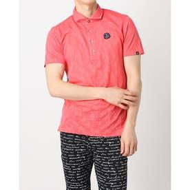 メンズ ゴルフ 長袖シャツ 紳士半袖シャツ AMS9601V3 (ピンク)
