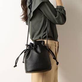 2WAY巾着ショルダーバッグ (BLACK)