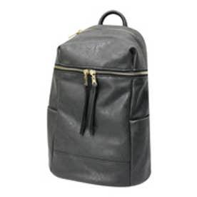 O-1/リュックバッグバックパックフェイクレザーバッグ (ブラック【スムース】)