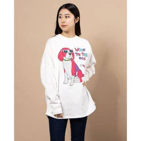 レディース長袖Tシャツ(ホワイト)