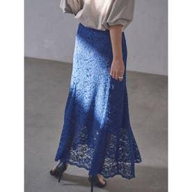 レースマーメードスカート (BLUE)