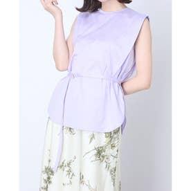 ノースリタックカットソー (薄紫)