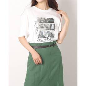 グラフィックTシャツ (白)