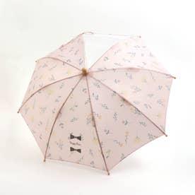 ボタニカル柄傘 (ピンク)
