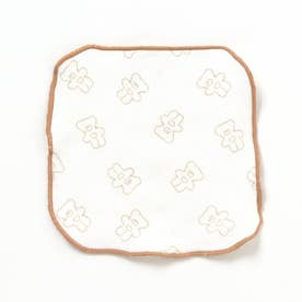 tiny bear(タイニーベア) ミニハンカチ (オレンジ)