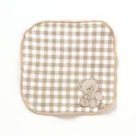 tiny bear(タイニーベア) ミニハンカチ (ベージュ)
