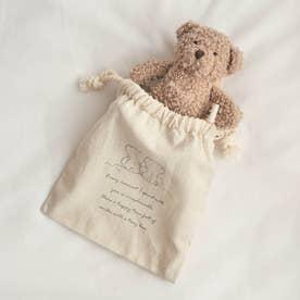 tiny bear(タイニーベア) 巾着 (キナリ)