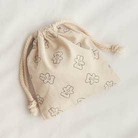 tiny bear(タイニーベア) 巾着 (ベージュ)