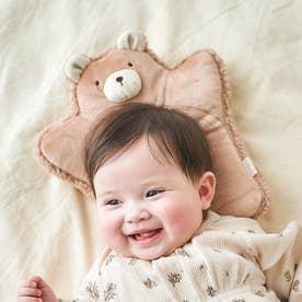 くまさん3WAY授乳枕 (ベージュ)