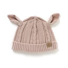 バンビベビーニット帽 (ピンク)