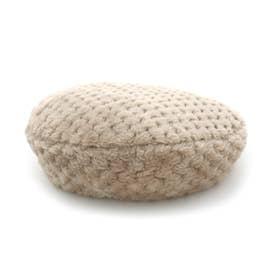 ぽこぽこファーベレー帽 (ベージュ)