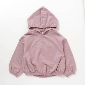 WEB限定  にじいろ刺繍パーカー (ピンク)