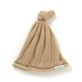 とんがりベビーニット帽 (マスタード)