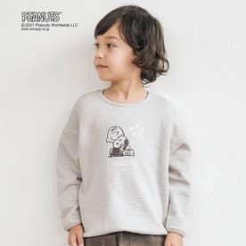 PEANUTS(ピーナッツ)2柄Tシャツ (サックス)