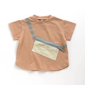 サコッシュTシャツ (オレンジ)