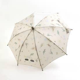 きょうりゅう柄傘 (アイボリー)