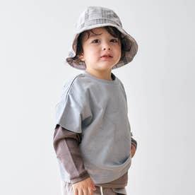 スターパッチ2PセットTシャツ (サックス)