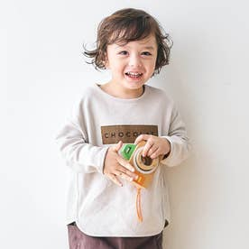 アソート柄Tシャツ (アイボリー)