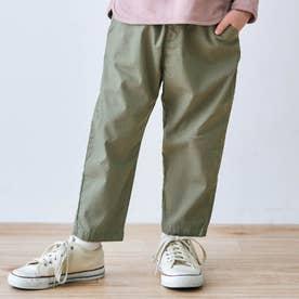 ゆったりテーパードパンツ/7days Style pants_9分丈  9分丈 (カーキ)