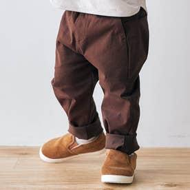 ゆったりテーパードパンツ/7days Style pants_9分丈  9分丈 (エンジ)