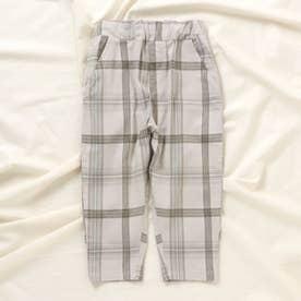 ゆったりテーパードパンツ/7days Style pants_9分丈  9分丈 (グレー)