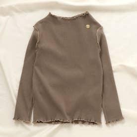 メロウリブTシャツ (ブラウン)