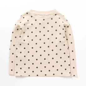 4色総柄Tシャツ (アイボリー)