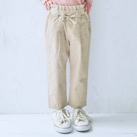 GIRL'Sテーパード/7days Style pants_9分丈 (ドット柄)