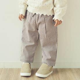 GIRL'Sテーパード/7days Style pants_9分丈 (チェック柄)