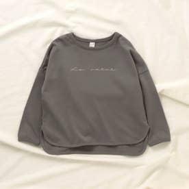 WEB限定 3柄6色プリントTシャツ (チャコール)