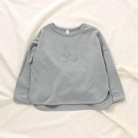 WEB限定 3柄6色プリントTシャツ (サックス)