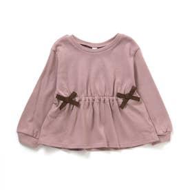 WEB限定 リボンTシャツ (ピンク)