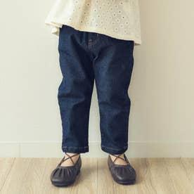 ストレッチデニム/7days Style pants_10分丈  10分丈 (ネイビーブルー)