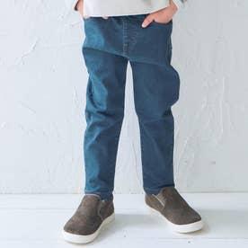 ストレッチデニム/7days Style pants_10分丈  10分丈 (ブルー)