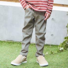 カラフルツイル/7days Style pants_10分丈  10分丈 (カーキ)