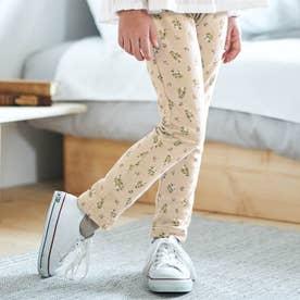 総柄   7days Style パンツ 10分丈 (花柄)
