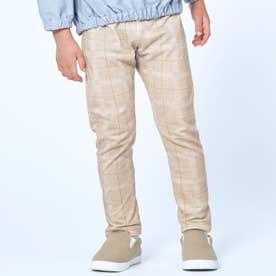 総柄 | 7days Style パンツ 10分丈 (ベージュ)