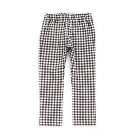 総柄 | 7days Style パンツ 10分丈 (ブラック)