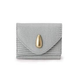 TOFF&LOADSTONE レザー三つ折り財布 (ライトブルー)