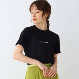 ロゴプリントTシャツ (ブラック)