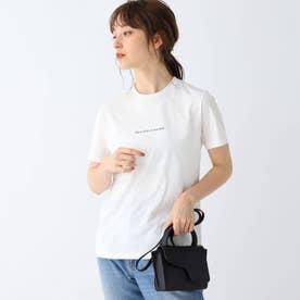 ロゴプリントTシャツ (オフホワイト)