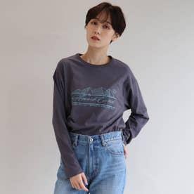 AMERICANA ロングTシャツ (チャコールグレー)