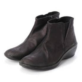 L'ライン SOPHIA BUCKY ショートブーツ (ブラック)
