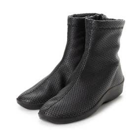 SHORT BOOTS ショートブーツ (ブラック(パンチング))