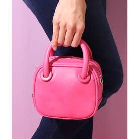 ワンマイルミニバッグ (ピンク合皮スムース)