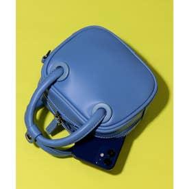 ワンマイルミニバッグ (ブルー合皮スムース)